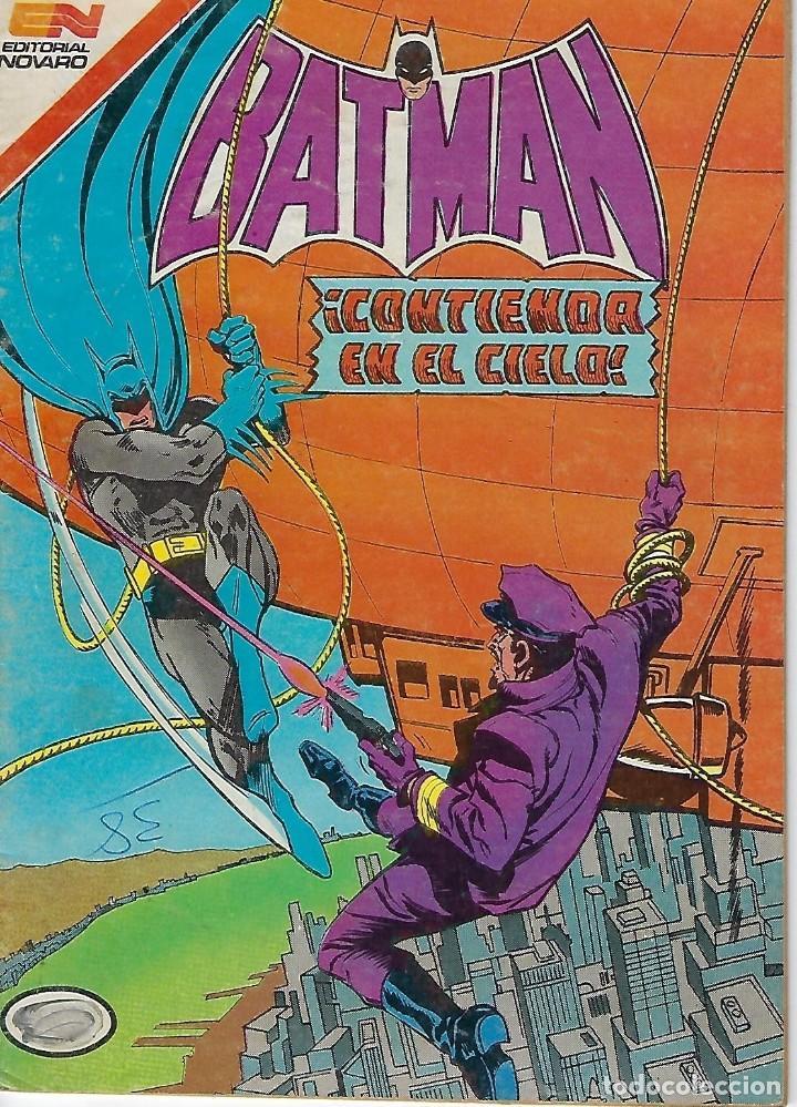 BATMAN: SERIE AGUILA - AÑO: XXXII - Nº 1247 - AGOSTO 3 DE 1984 *** EDITORIAL NOVARO *** (Tebeos y Comics - Novaro - Batman)