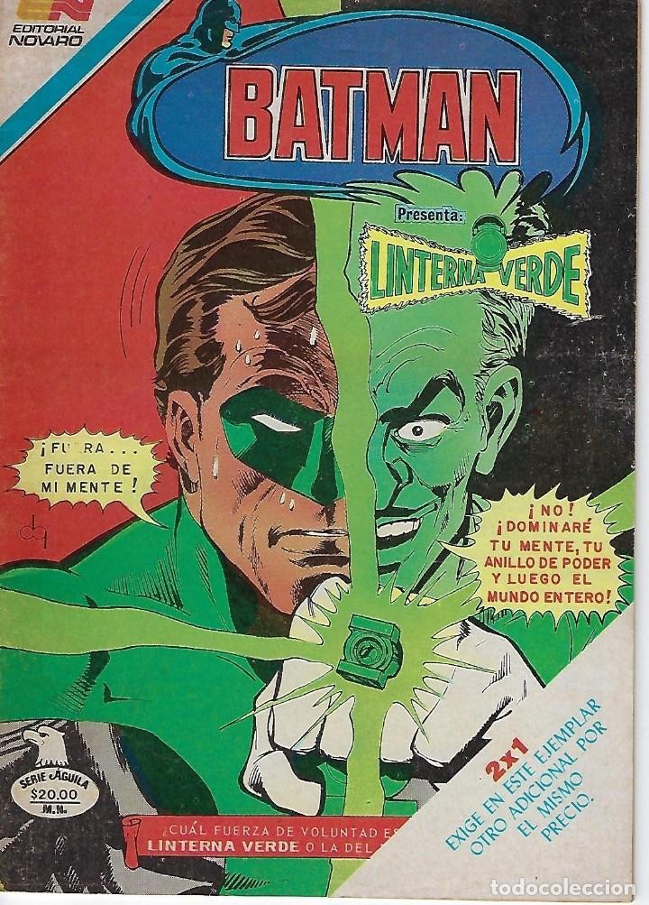 BATMAN: SERIE AGUILA - AÑO: XXXII - Nº 2-1216 - ENERO 2 DE 1984 *** EDITORIAL NOVARO *** (Tebeos y Comics - Novaro - Batman)