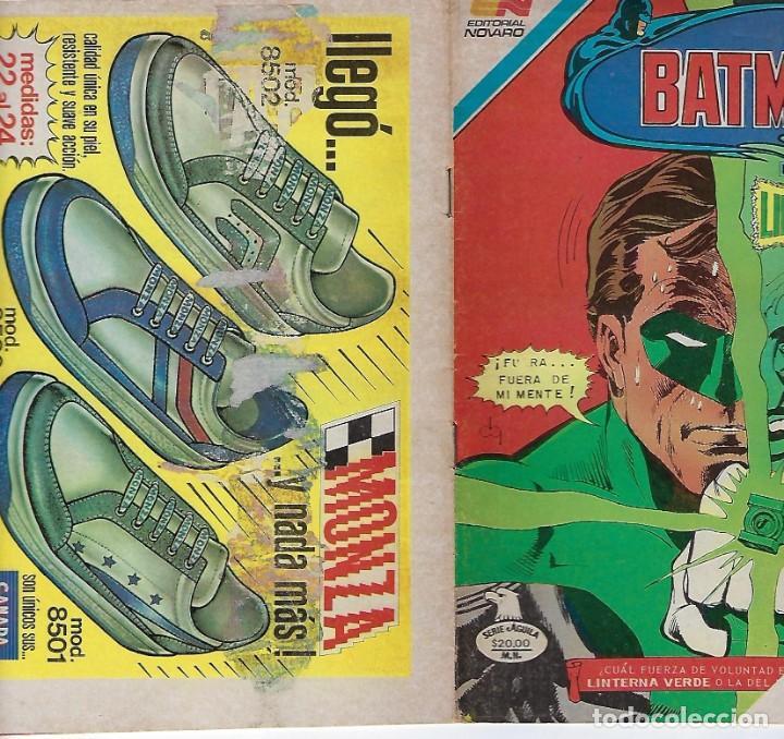 Tebeos: BATMAN: SERIE AGUILA - AÑO: XXXII - Nº 2-1216 - ENERO 2 DE 1984 *** EDITORIAL NOVARO *** - Foto 3 - 207060538