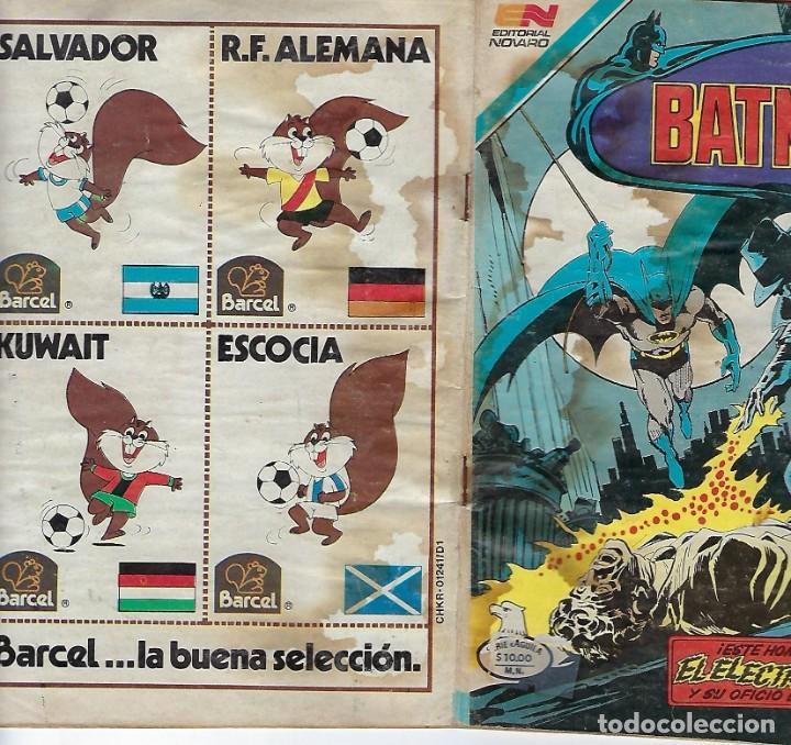 Tebeos: BATMAN: SERIE AGUILA - AÑO: XXXI - Nº 2-1171 - FEBRERO 21 DE 1983 *** EDITORIAL NOVARO *** - Foto 4 - 207060823