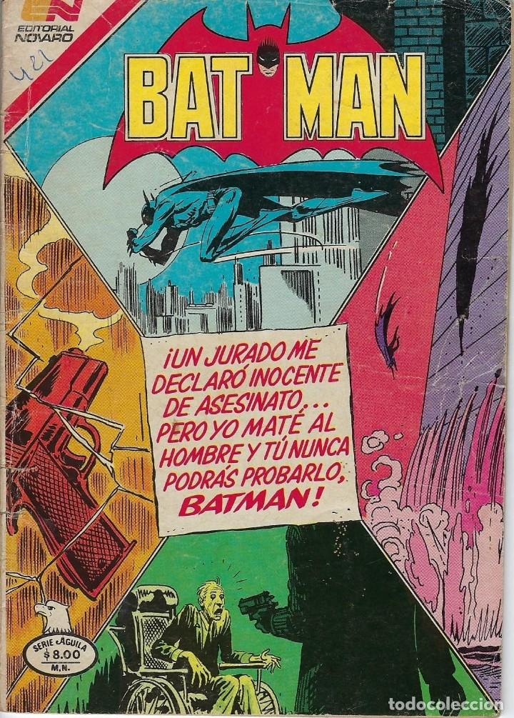 BATMAN: SERIE AGUILA - AÑO: XXXI - Nº 2-1153 - OCTUBRE 15 DE 1982 *** EDITORIAL NOVARO *** (Tebeos y Comics - Novaro - Batman)