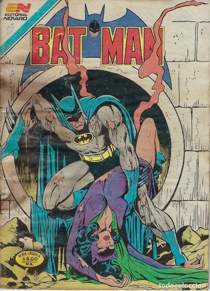 BATMAN: SERIE AGUILA - AÑO: XXX - Nº 2-1135 - JUNIO 11 DE 1982 *** EDITORIAL NOVARO *** (Tebeos y Comics - Novaro - Batman)