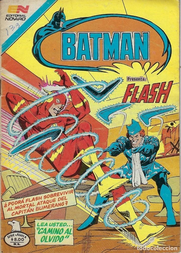 BATMAN: SERIE AGUILA - AÑO: XXIX - Nº 2-1124 - MARZO 25 DE 1982 *** EDITORIAL NOVARO *** (Tebeos y Comics - Novaro - Batman)