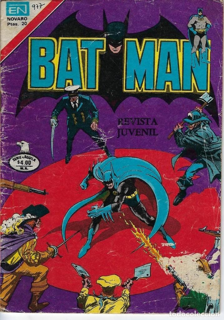 BATMAN: SERIE AGUILA - AÑO: XXVII - Nº 2-971 - JUNIO 1º DE 1979 *** EDITORIAL NOVARO *** (Tebeos y Comics - Novaro - Batman)
