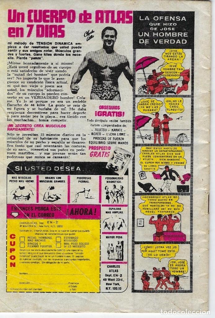 Tebeos: BATMAN: SERIE AGUILA - AÑO: XXVII - Nº 2-971 - JUNIO 1º DE 1979 *** EDITORIAL NOVARO *** - Foto 2 - 207061922