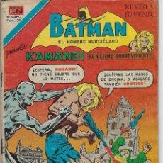 Tebeos: BATMAN: SERIE AGUILA - AÑO: XXVI - Nº 2-956 - ENERO 7 DE 1979 *** EDITORIAL NOVARO ***. Lote 207062162