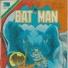 Tebeos: BATMAN: SERIE AGUILA - AÑO: XXVI - Nº 2-955 - DICIEMBRE 30 DE 1978 *** EDITORIAL NOVARO ***. Lote 207062506