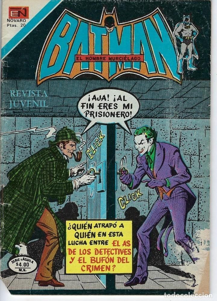 BATMAN: SERIE AGUILA - AÑO: XXVI - Nº 2-950 - NOVIEMBRE 26 DE 1978 *** EDITORIAL NOVARO *** (Tebeos y Comics - Novaro - Batman)