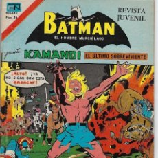 Tebeos: BATMAN: SERIE AGUILA - AÑO: XXV - Nº 2-868 - MAYO 4 DE 1977 *** EDITORIAL NOVARO ***. Lote 207064106