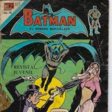 Tebeos: BATMAN: SERIE AGUILA - AÑO: XXV - Nº 2-833 - JUNIO 12 DE 1976 *** EDITORIAL NOVARO ***. Lote 207064510