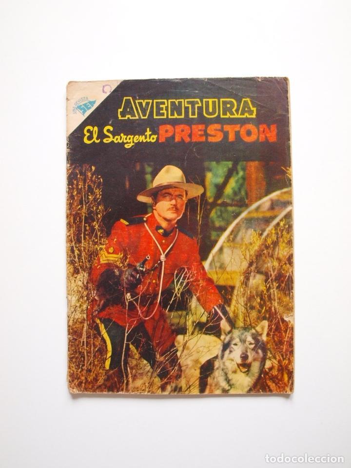 AVENTURA Nº 60 - EL SARGENTO PRESTON - SEA - NOVARO 1957 (Tebeos y Comics - Novaro - Aventura)