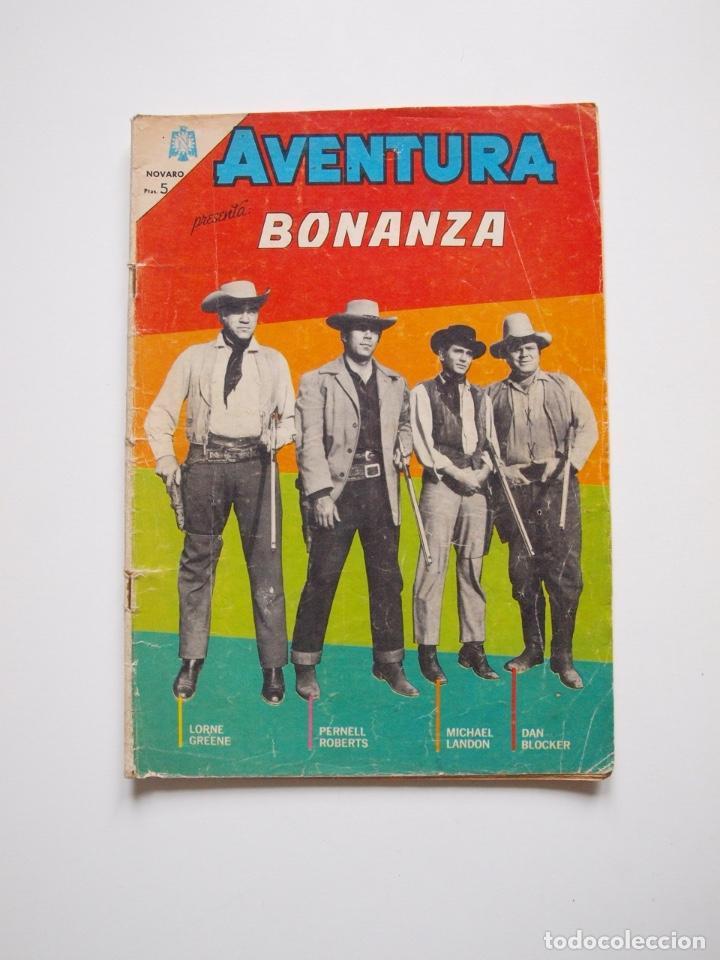 AVENTURA Nº 371 - BONANZA - DÍA NEGRO EN CIUDAD VIRGINIA - NOVARO 1965 (Tebeos y Comics - Novaro - Aventura)