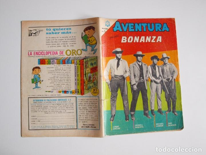 Tebeos: AVENTURA Nº 371 - BONANZA - DÍA NEGRO EN CIUDAD VIRGINIA - NOVARO 1965 - Foto 5 - 207085571