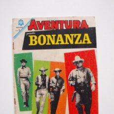 Tebeos: AVENTURA Nº 377 - BONANZA - EL CABALLERO - NOVARO 1965. Lote 207103231