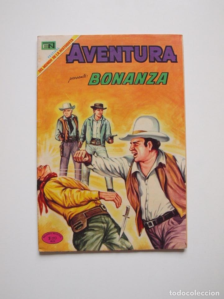 AVENTURA Nº 603 - BONANZA - UN MAL PERDEDOR - NOVARO 1969 (Tebeos y Comics - Novaro - Aventura)
