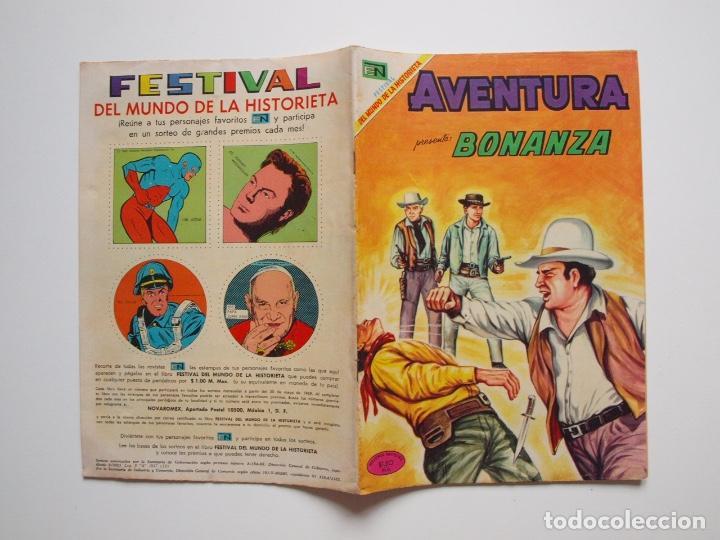 Tebeos: AVENTURA Nº 603 - BONANZA - UN MAL PERDEDOR - NOVARO 1969 - Foto 6 - 207103900