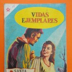 Tebeos: VIDAS EJEMPLARES Nº 14 - SANTA ISABEL DE HUNGRIA - AÑO 1955 - NOVARO... L1235. Lote 207181783