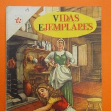 Tebeos: VIDAS EJEMPLARES Nº 16 - SANTA MARGARITA MARIA DE ALACOQUE - AÑO 1955 - ED. NOVARO... L1237. Lote 207184157