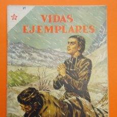 Tebeos: VIDAS EJEMPLARES Nº 19 - EL PADRE CHAMPAGNAT, APOSTOL DE LA JUVENTUD - AÑO 1955 - ED. NOVARO.. L1238. Lote 207184542