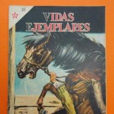 Tebeos: VIDAS EJEMPLARES Nº 24 - BEATO SEBASTIAN DE APARICIO, APACIGUADOR DE FIERAS - 1956 - NOVARO.. L1240. Lote 207185936