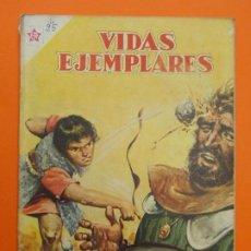 Tebeos: VIDAS EJEMPLARES Nº 25 - EL REY DAVID, REY Y PROFETA - AÑO 1956 - ED. NOVARO... L1241. Lote 207186833
