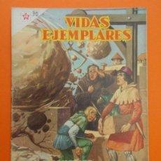 Tebeos: VIDAS EJEMPLARES Nº 32 - SAN FRANCISCO DE PAULA - AÑO 1956 - ED. NOVARO... L1246. Lote 207216593