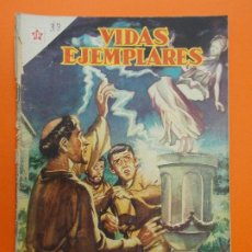 Tebeos: VIDAS EJEMPLARES Nº 33 - SAN MARTIN DE TOURS - AÑO 1957 - ED. NOVARO... L1247. Lote 207232738
