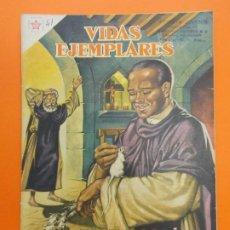 Tebeos: VIDAS EJEMPLARES Nº 41, FRAY MARTIN DE PORRES, EL BEATO PRODIGIOSO - AÑO 1957 - ED. NOVARO... L1253. Lote 207236250