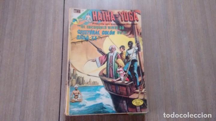 HATHA-YOGA - NUMERO 16 - CRISTOBAL COLON EN EL SIGLO XX - (Tebeos y Comics - Novaro - Otros)