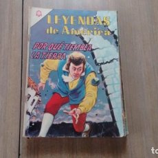 Tebeos: LEYENDAS DE AMERICA - NUMERO 114 - POR QUE TIEMBLA LA TIERRA -. Lote 207246126