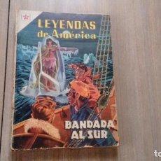 Tebeos: LEYENDAS DE AMERICA - NUMERO 44 - BANDADA AL SUR -. Lote 207246558
