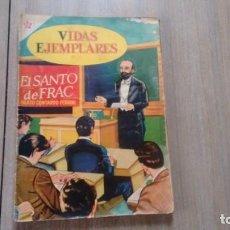 Tebeos: VIDAS EJEMPLARES - NUMERO 10 - EL SANTO DE FRAC -. Lote 207246928