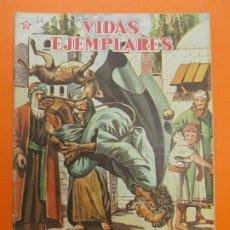 Tebeos: VIDAS EJEMPLARES Nº 46, SAN SIMEON, EL LOCO SUBLIME - AÑO 1958 - ED. NOVARO... L1256. Lote 207267962