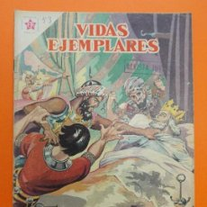 Tebeos: VIDAS EJEMPLARES Nº 53, SAN LUIS, REY DE FRANCIA - AÑO 1958 - ED. NOVARO... L1260. Lote 207272821