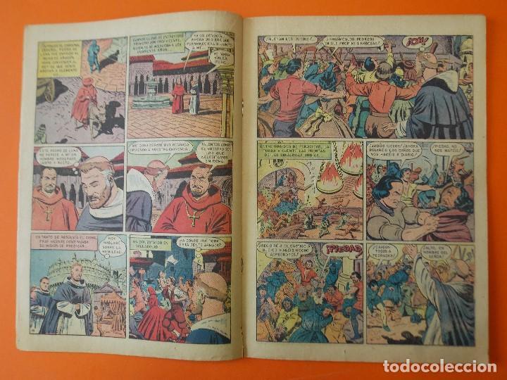 Tebeos: VIDAS EJEMPLARES Nº 57, SAN VICENTE FERRER - AÑO 1959 - ED. NOVARO... L1261 - Foto 2 - 207273910