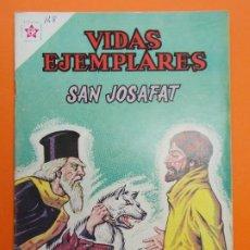 Tebeos: VIDAS EJEMPLARES Nº 148, SAN JOSAFAT - AÑO 1963 - ED. NOVARO... L1264. Lote 207277041