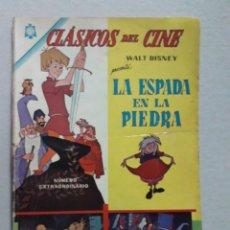 Tebeos: LA ESPADA EN LA PIEDRA! - CLÁSICOS DEL CINE EXTRAORDINARIO N° 133 - ORIGINAL EDITORIAL NOVARO. Lote 207296017