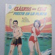 Tebeos: CLÁSICOS DEL CINE N° 148 - FIESTA EN LA PLAYA - ORIGINAL EDITORIAL NOVARO. Lote 207296670