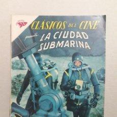 Tebeos: CLÁSICOS DEL CINE N° 87 - LA CIUDAD SUBMARINA - ORIGINAL EDITORIAL NOVARO. Lote 207297270