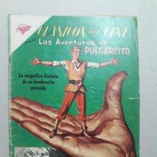 Tebeos: CLÁSICOS DEL CINE N° 30 - LAS AVENTURAS DE PULGARCITO - ORIGINAL EDITORIAL NOVARO. Lote 207297443