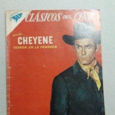 Tebeos: CLÁSICOS DEL CINE N° 25 - CHEYENE - ORIGINAL EDITORIAL NOVARO. Lote 207297762