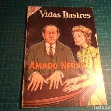 Livros de Banda Desenhada: VIDAS ILUSTRES. N° 106. NOVARO. PROCEDE DE ENCUADERNACION.. Lote 207398750