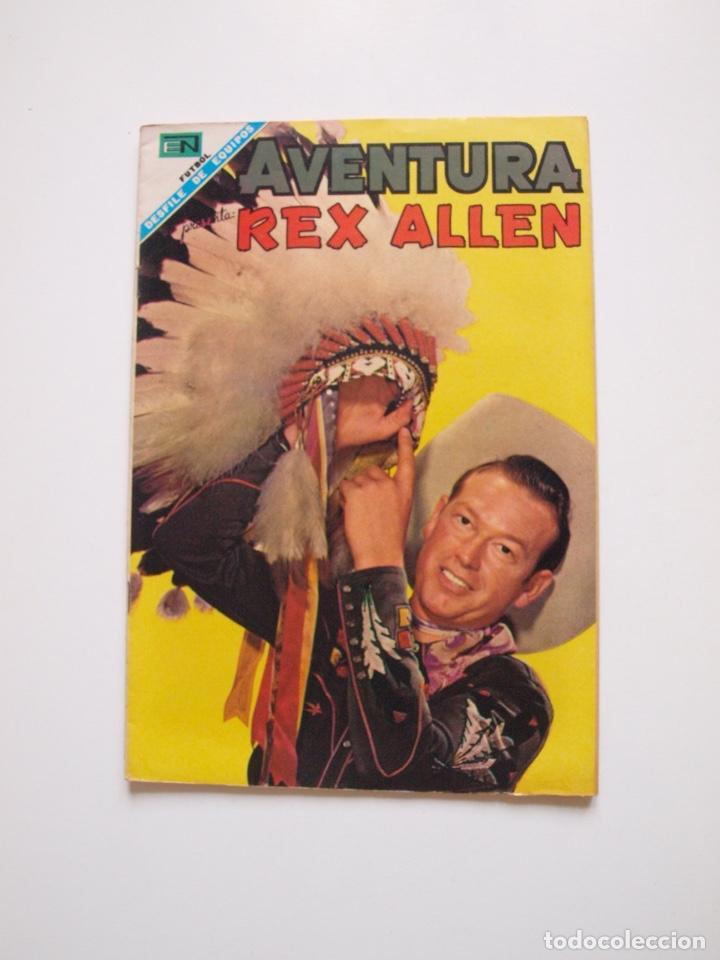 AVENTURA Nº 531 - REX ALLEN - EL ARDID DEL CUATRERO - NOVARO 1968 (Tebeos y Comics - Novaro - Aventura)