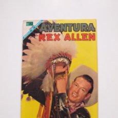 Tebeos: AVENTURA Nº 531 - REX ALLEN - EL ARDID DEL CUATRERO - NOVARO 1968. Lote 207473352