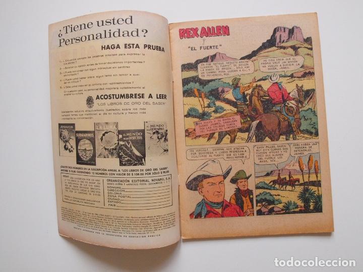 Tebeos: AVENTURA Nº 531 - REX ALLEN - EL ARDID DEL CUATRERO - NOVARO 1968 - Foto 2 - 207473352