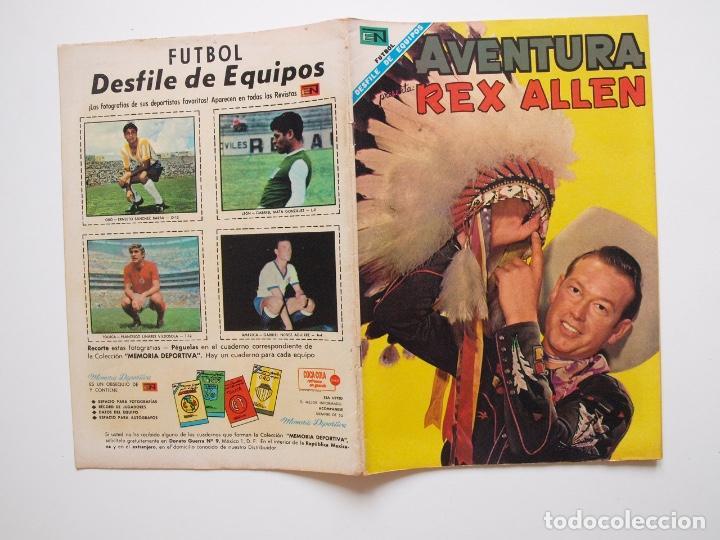 Tebeos: AVENTURA Nº 531 - REX ALLEN - EL ARDID DEL CUATRERO - NOVARO 1968 - Foto 5 - 207473352