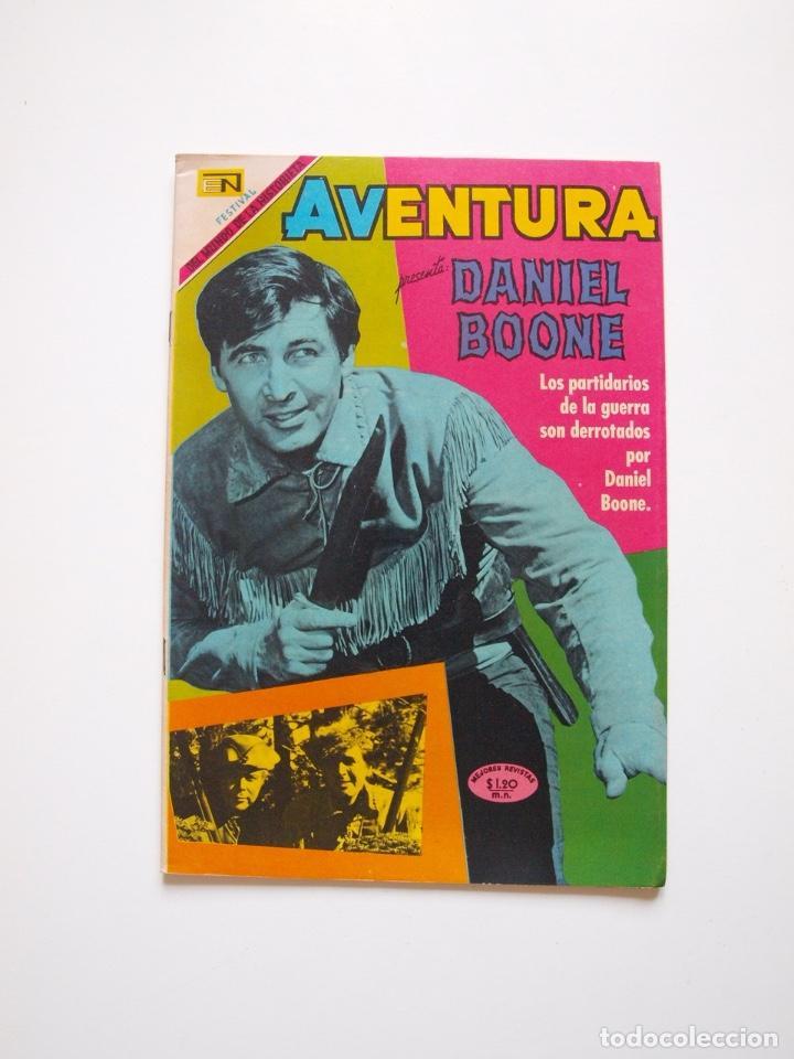 AVENTURA Nº 615 - DANIEL BOONE - EL ARDID DEL CUATRERO - NOVARO 1969 (Tebeos y Comics - Novaro - Aventura)