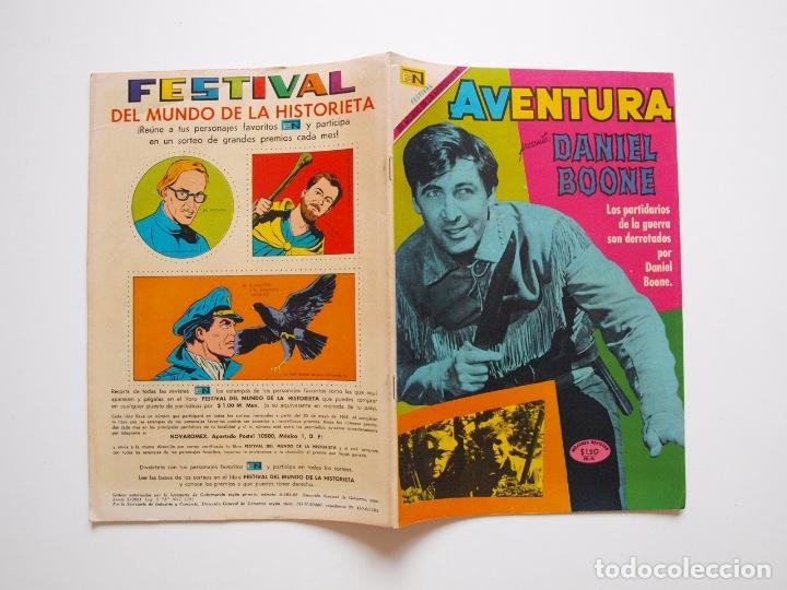 Tebeos: AVENTURA Nº 615 - DANIEL BOONE - EL ARDID DEL CUATRERO - NOVARO 1969 - Foto 5 - 207474420