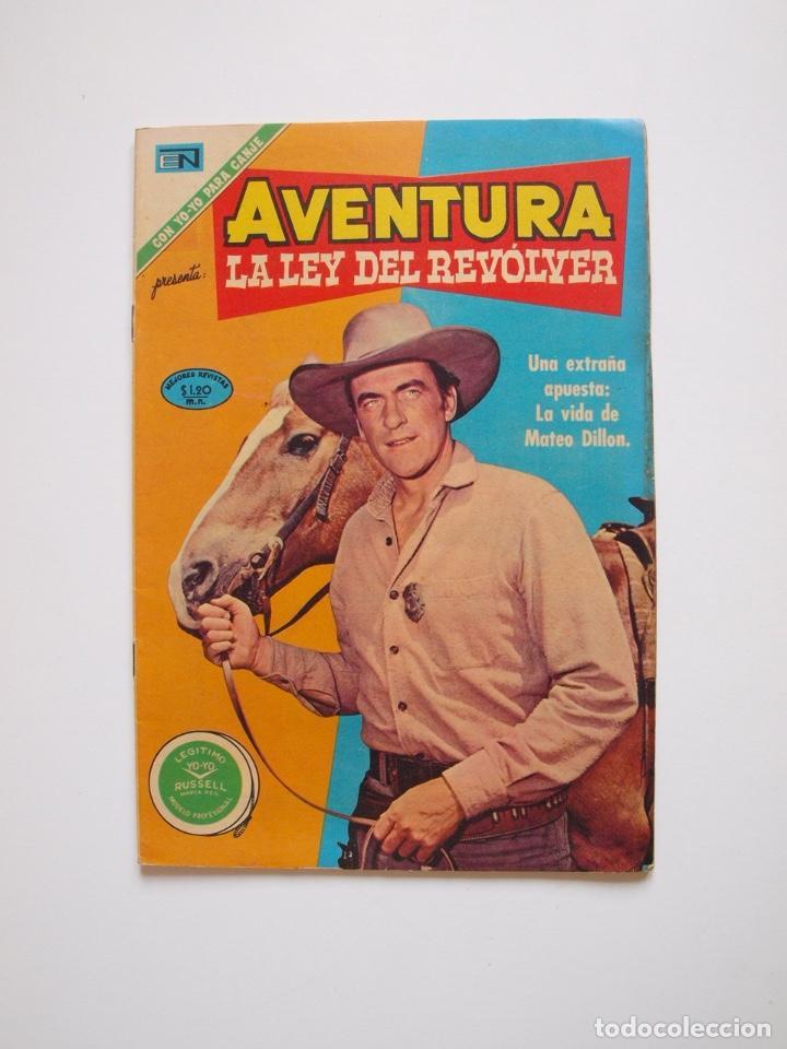 AVENTURA Nº 681 - LA LEY DEL REVOLVER - LA APUESTA - NOVARO 1971 (Tebeos y Comics - Novaro - Aventura)