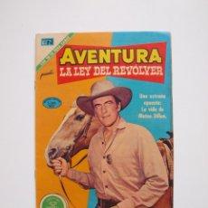 Tebeos: AVENTURA Nº 681 - LA LEY DEL REVOLVER - LA APUESTA - NOVARO 1971. Lote 207475303